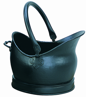Coal Bucket Cathedral Black - Large