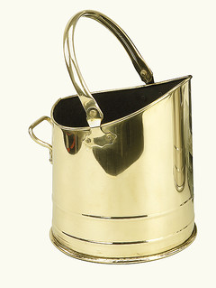 Coal Bucket Flanders Brass
