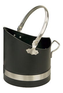 Coal Hod Warwick Black and Pewter