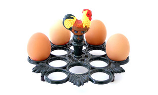 Egg Holder Rooster