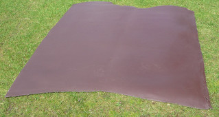 LARGE EMBOSSED LEATHER HIDE