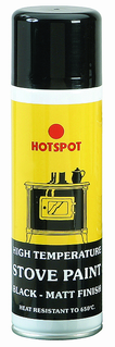 Hotspot - Stove Paint (matt black)