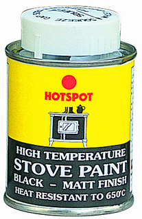 Hotspot - Stove Paint Tin (matt black)