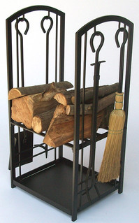 Log Holder with Tools