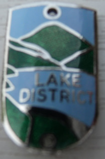 Walking Stick Badge - Lake District