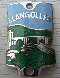 Walking Stick Badge - Llangollen